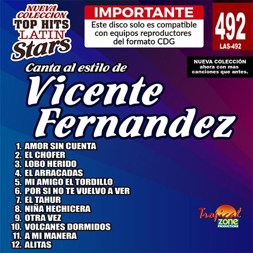 Importante 09 Karaoke Latin Stars 406 Salsa Vol Este disco solo es compatible con reproductores del formato CDG